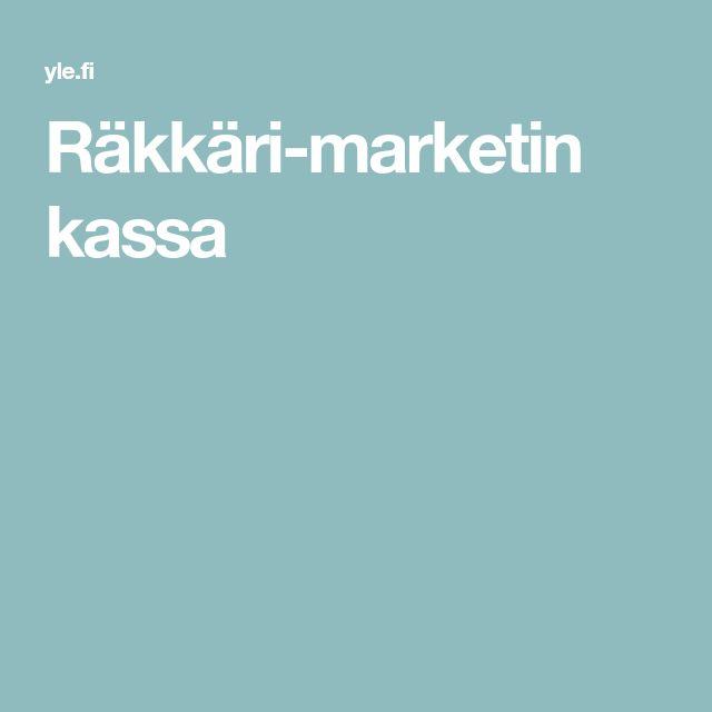 Räkkäri-marketin kassa