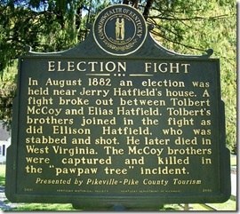 Election Fight:  Memories Tablet, Election Fight, Brass,  Plaques