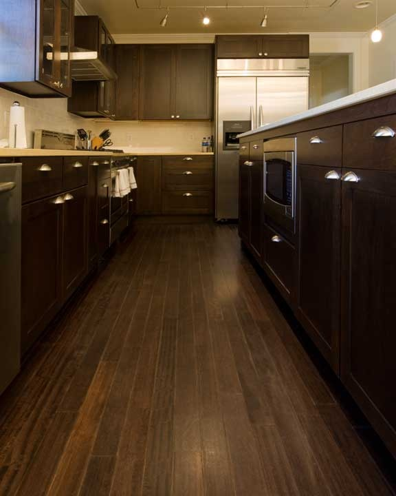 Installing Bamboo Flooring In Kitchen: 45 Best Images About Floors - Dark On Pinterest