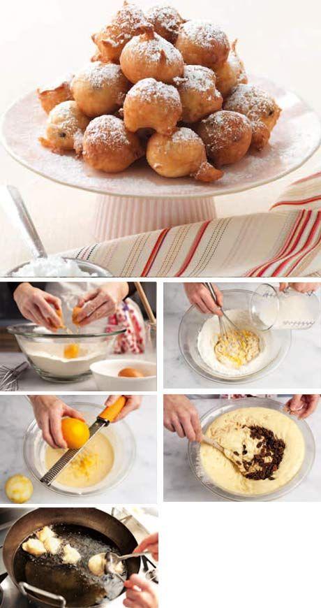 La Cucina Italiana - Ricetta regionale: fritole