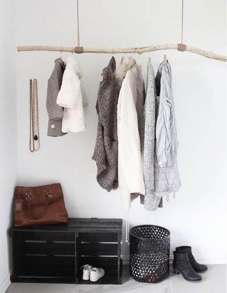 les 25 meilleures id es de la cat gorie portant vetement. Black Bedroom Furniture Sets. Home Design Ideas