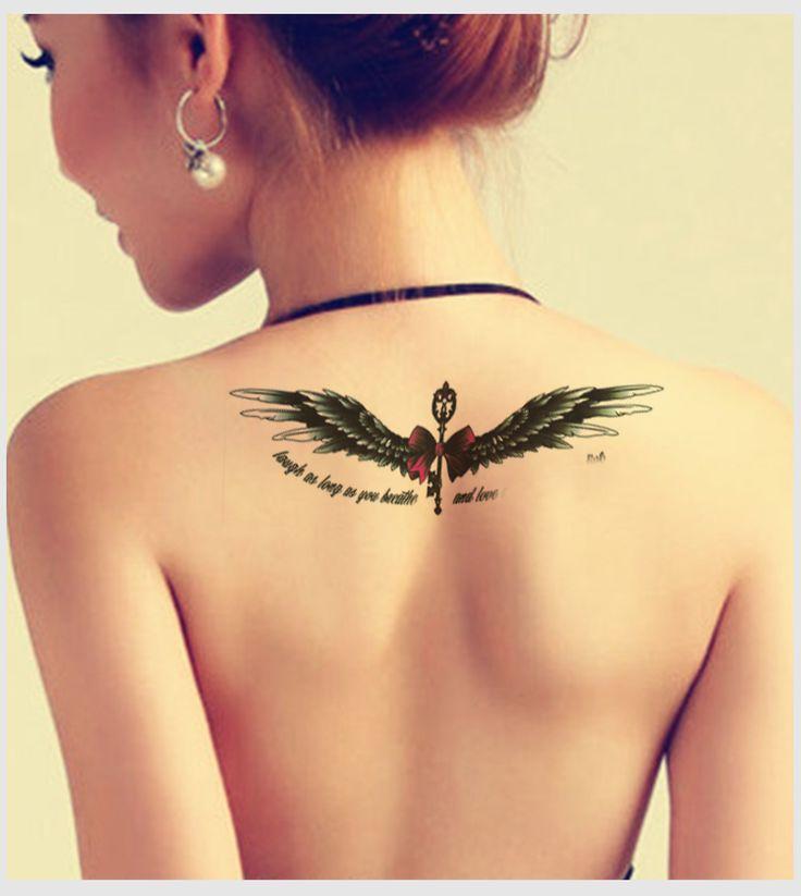 tatuajes de alas de angel - Buscar con Google                                                                                                                                                      Más