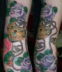 17 best images about lock and key tattoo ideas on for Revival tattoo and piercing