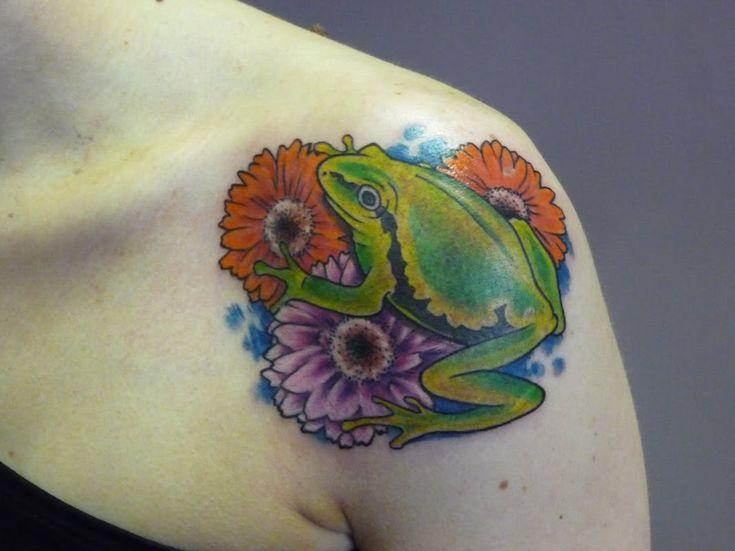Les 25 meilleures id es de la cat gorie tatouage de gerbera sur pinterest dessins de tatouage - Signification animaux tatouage ...