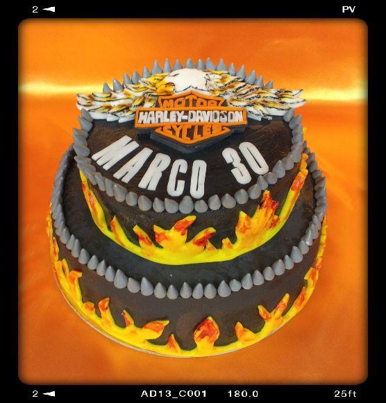 Torta Harley Davidson