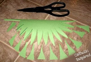 Make a Paper Palm for Palm Sunday! - Catholic Inspired