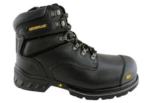 #CaterpillarSteelToeBoot Made from full-grain leather material which prevents the absorption of liquid substance. You can choose between steel toe, or you can choose to have a soft toe. http://best-workboots.com/category/caterpillar/