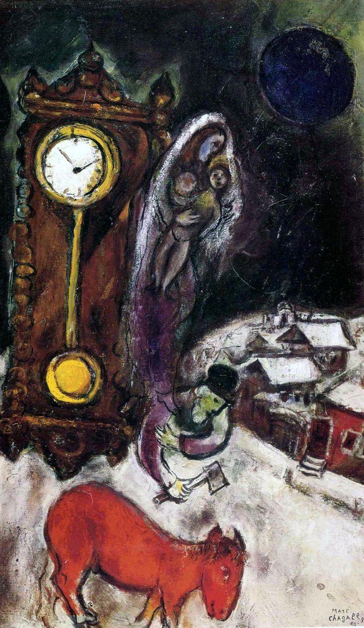 1951 Marc Chagall. Nuit de Nouvel
