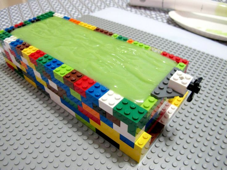 I posted these pictures on Facebook several years ago but never blogged about it. Do you have lots of Lego bricks laying around? If so, you can build your own soap mold! You can make the mold as large or … Read More