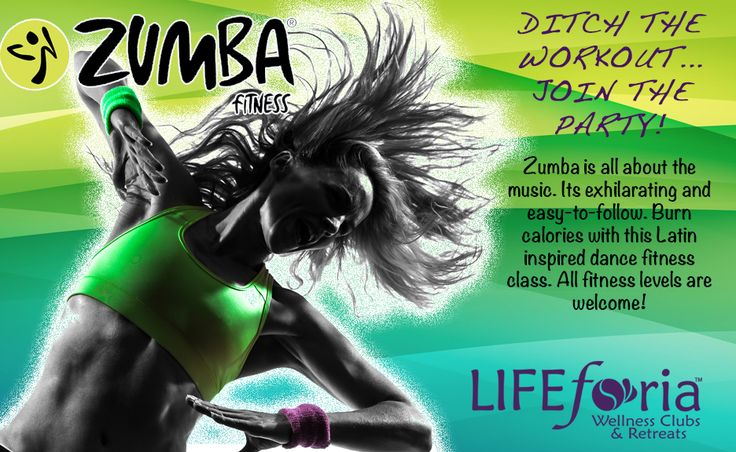 Let loose in our Zumba class!! Not a member?? No problem... Only $15 per class!