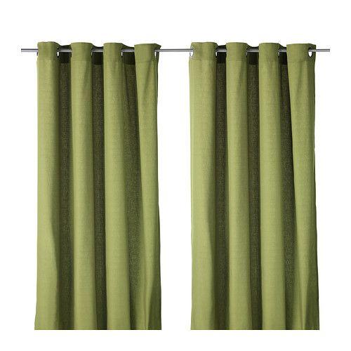 MARIAM Rideaux, 1 paire IKEA Ces rideaux laissent passer la lumière du jour tout en filtrant les rayons directs du soleil.