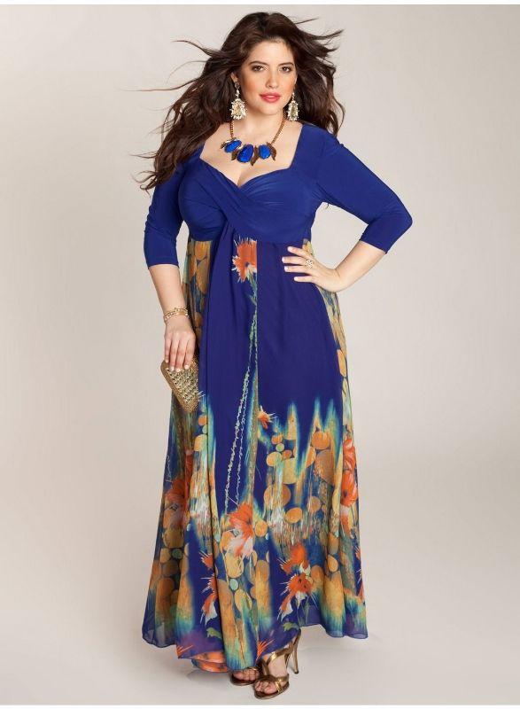 Igigi tropical beauty maxi dress