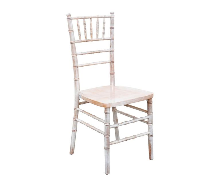 LIMEWASH CHIAVARI The elegant Chiavari needs no introduction - it's the chair of choice for sophisticated events. It's also strong, lightweight and stackable. Alloyfold's Limewash Chiavari is a great choice for vintage or rustic inspired events - a very popular look at the moment. The limewash Chiavari is made from German Beech Wood.