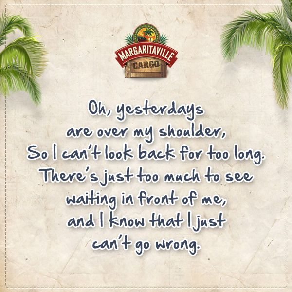Finishing this #Monday off right with one of our absolute favorite #JimmyBuffett quotes.