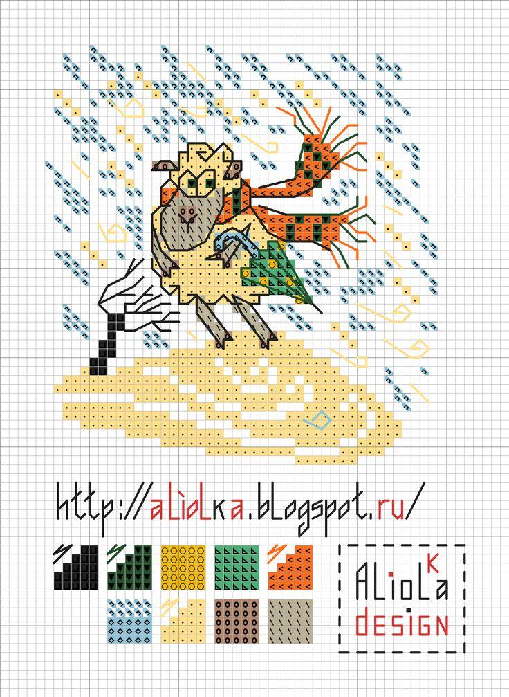 Мои творилки *** Aliolka design: Дождь и снег