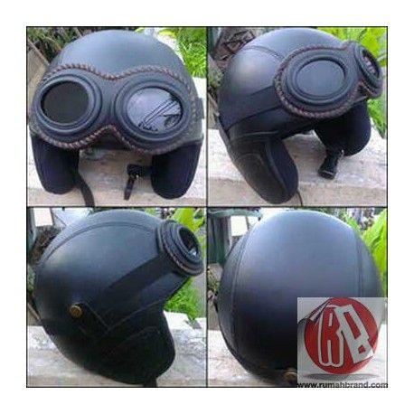 Helm Classic Standart (HC-24) @Rp. 185.000,-   http://rumahbrand.com/helm-kustom/863-helm-classic-standart.html