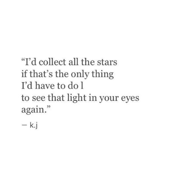 Every star you are my whole world Toni Michelle I love you and miss you so much. I just want to be worth it to you.