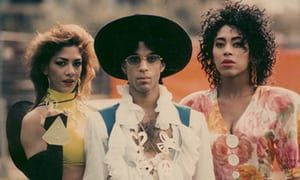 Prince during the Lovesexy tour in 1988.