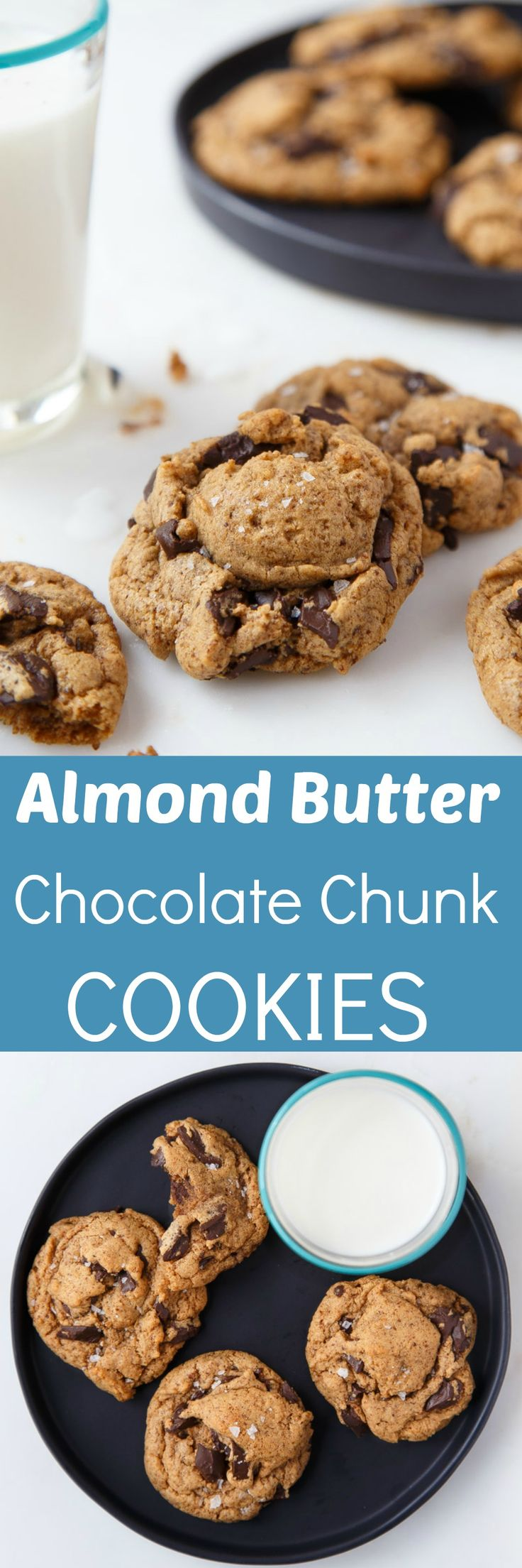Almond Butter Chocolate Chunk Cookies (ABCs!) | Recipe | Butter ...