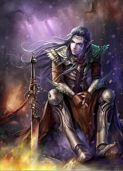 """LIGHT ELVES - these were beautiful creatures. They were considered to be the """"guardian angels"""" The god FREYR was the ruler of ALFHEIM. LIGHT ELVES were minor gods of nature and fertility; they could help or hinder, humans with their knowledge of magical powers. They also often delivered an inspiration to art or music."""