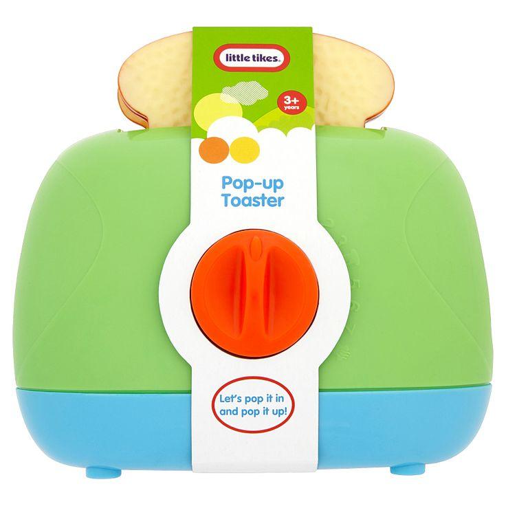 little tikes pop up toaster activity toys asda direct. Black Bedroom Furniture Sets. Home Design Ideas