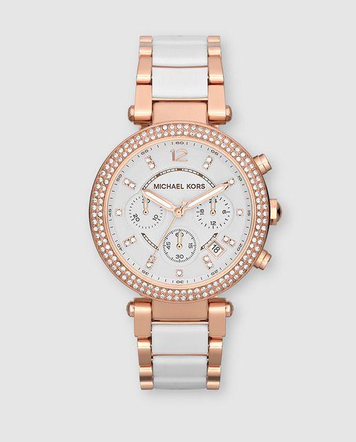 Reloj de mujer Michael Kors de acero bicolor