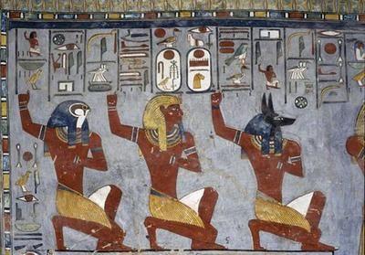 Själarna till Nechen och Pe | LundinOrient´s Egypten