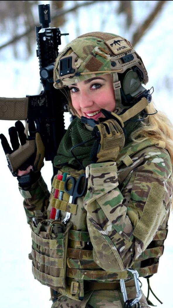 Gorgeous  Military Girl, Military Women, Army Women-7117