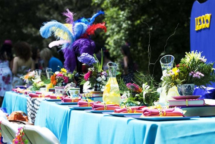 #BridalShower Alice in Wonderland theme
