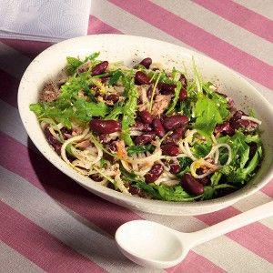 Красная фасоль с тунцом и лапшой рецепт – основные блюда. «Афиша-Еда»