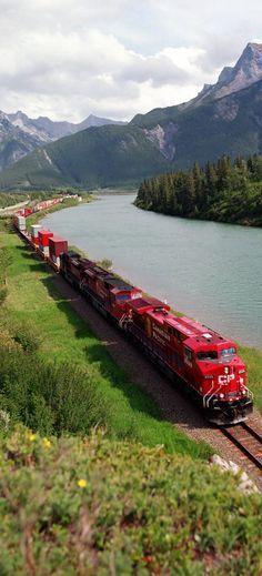 Canadian Pacific Railway ~ Alberta, Canada