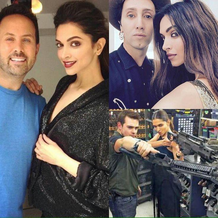 #DeepikaPadukone #photographer #JohnRusso #HairStylist #AdirAbergel #TheReturnofXanderCage #twitter