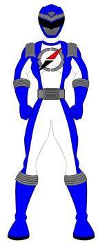 15. Power Rangers Operation Overdrive - Blue Range by PowerRangersWorld999