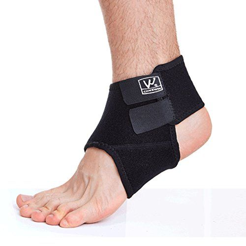 Senston Breathable Neoprene Ankle Support Adjustable Ankle Brace - Provides Support and Ease Pains - One Size *** Read more reviews of the product by visiting the link on the image.