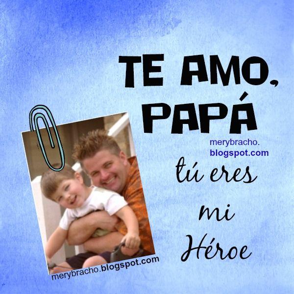 feliz dia padre acrostico te amo papa
