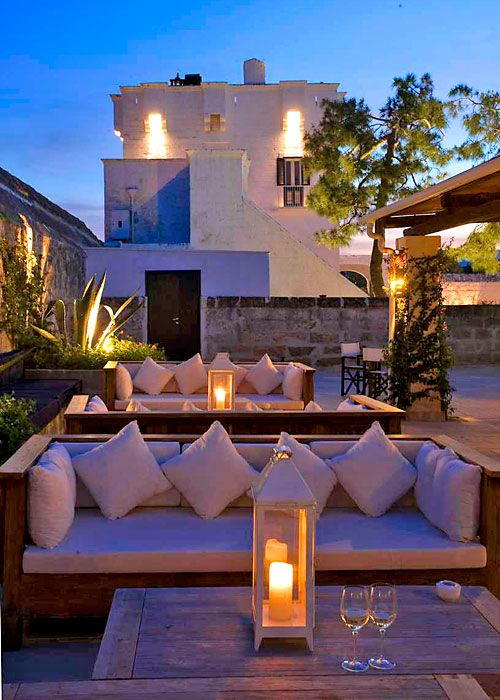 Treat yourself in ancient fortified farmhouses restored into luxurious five-star hotels in Puglia