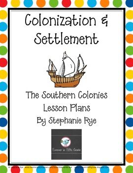an analysis of southern colonies The southern colonies of maryland, virginia, north carolina, south carolina, and georgia grew their own food along with growing three major cash crops: tobacco, rice, and indigo these were grown on plantations typically worked by slaves and indentured servants.