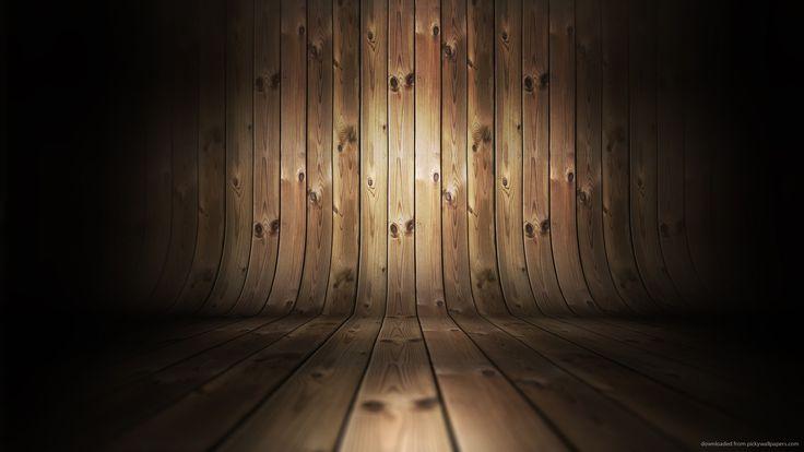 Slightly Lightened Wooden Room for 1920x1080