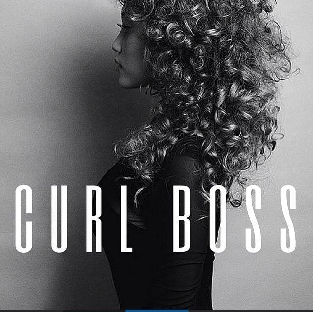 Natural curly hair ♡
