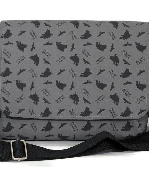#Gameofthrones fabric - Messenger Bag