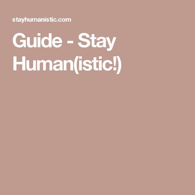 Tutte le guide di Stay Human(istic!) per la tua ricerca del lavoro.