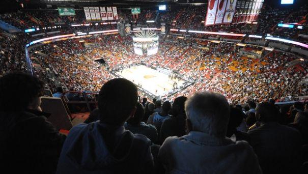 American Airlines Arena in Miami !!! http://www.bons-plans-voyage-d-alex.com/bons-plans-floride/bons-plans-miami/allez-voir-un-match-des-miami-heat-lors-de-votre-voyage-a-miami/