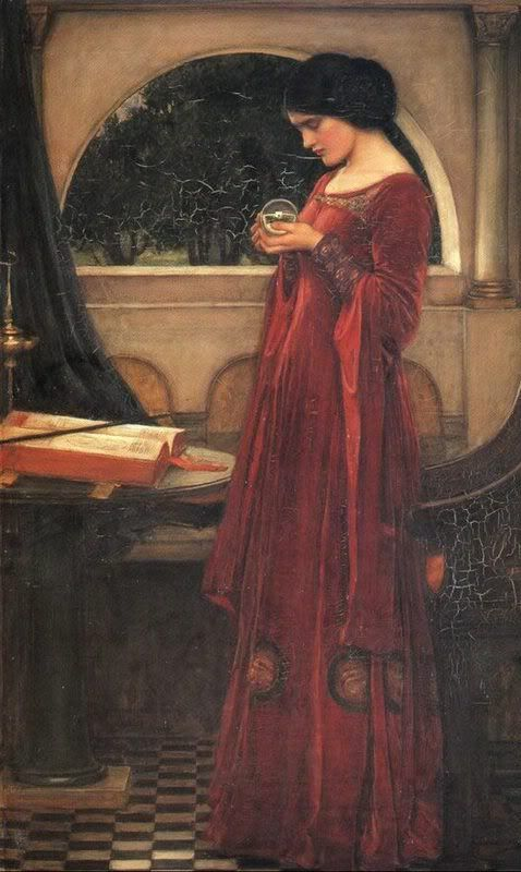 John William Waterhouse: The Crystal Ball