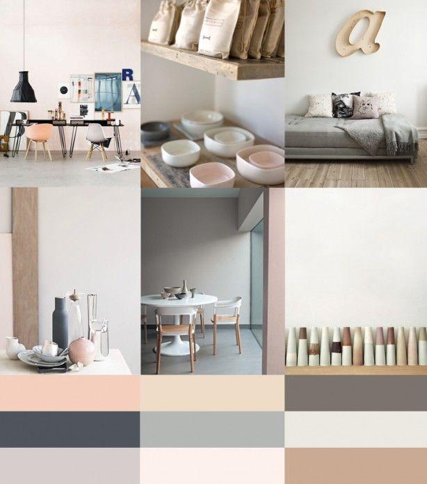 schilder kleuren pallet - slaapkamer/boven verdieping?
