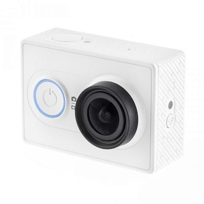 Xiaomi Yi Action Camera - 16 MP - White + Free monopod Original. Now, when you travel or doing some outdoor sports, you no longer have to carry heavy equipment, stop spending a lot of time focusing, just one click you can get amazing picture quality with vibrant and colorful video clips and feel free to transfer to the phone via built-in WiFi, edit, share buttons.  http://www.zocko.com/z/JKCt4
