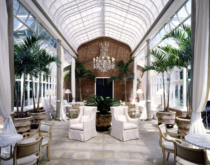 McAlpine Booth & Ferrier Interiors Blount Conservatory