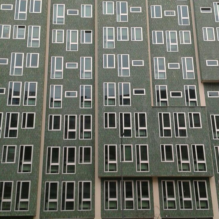 #EdificioMontedoria #Caiazzo #Milano #architecture
