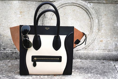 Céline luggage totes.