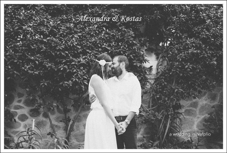 Alexandra & Kostas | Civil Wedding in Nafplio