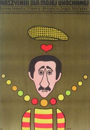 Poster Plakat Jerzy Flisak naszyjnik dla mojej ukochanej